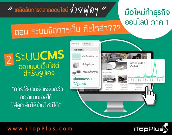 ระบบเว็บไซต์ แบบ CMS