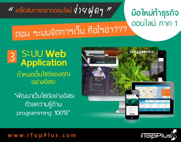 ระบบเว็บไซต์ Web Application