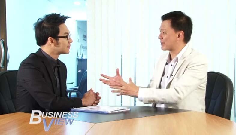 บทสัมภาษณ์รายการ Business view