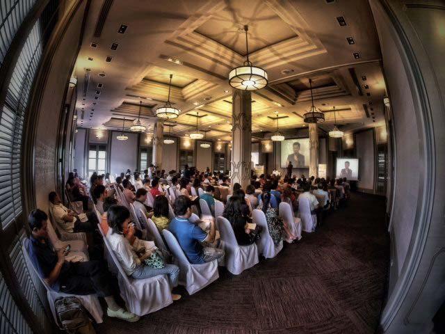 Thailand Online Executive Seminar วันที่ 18 สิงหาคม 2555 ณ ตรัยยาสปา พระราม9
