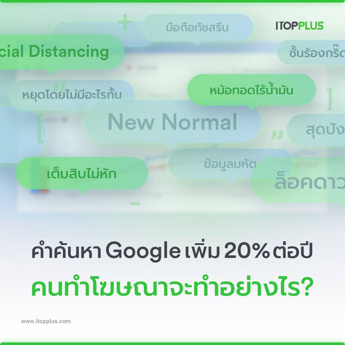 เมื่อคำค้นหาใหม่บน Google เพิ่ม 20% ทุกปี คนทำโฆษณาจะทำอย่างไร?
